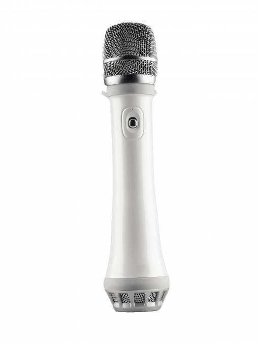 speamic-wireless-hand-microphone-with-speaker-standing