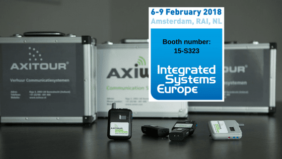 Axitour present at Integrated Systems Europe 2018