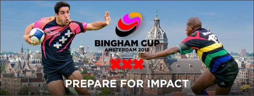 Axitour Communication Systems sponsors rugby tournament the Bingham Cup Amsterdam 2018