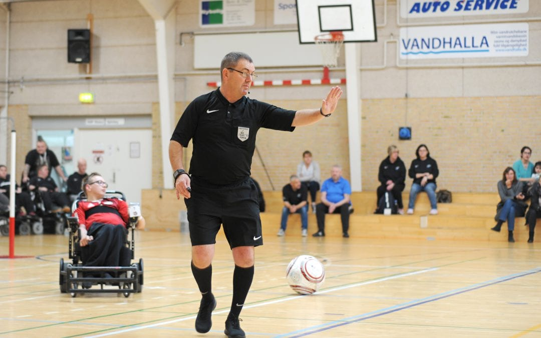European Powerchair Football Association satisfied with AXIWI