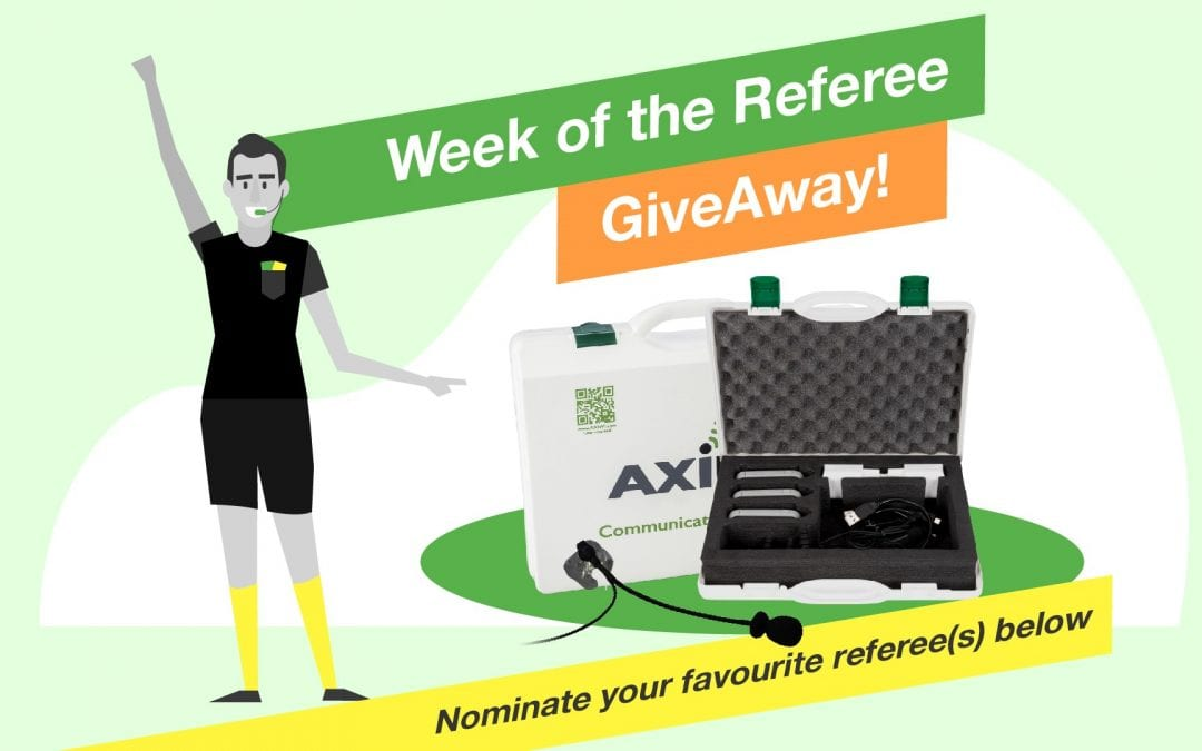 AXIWI 'Week of the Referee' GiveAway