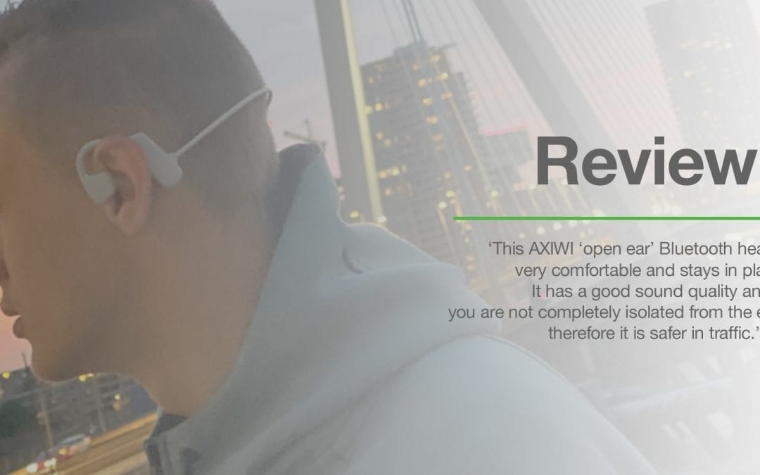 Review: AXIWI 250 sport – open ear Bluetooth headset