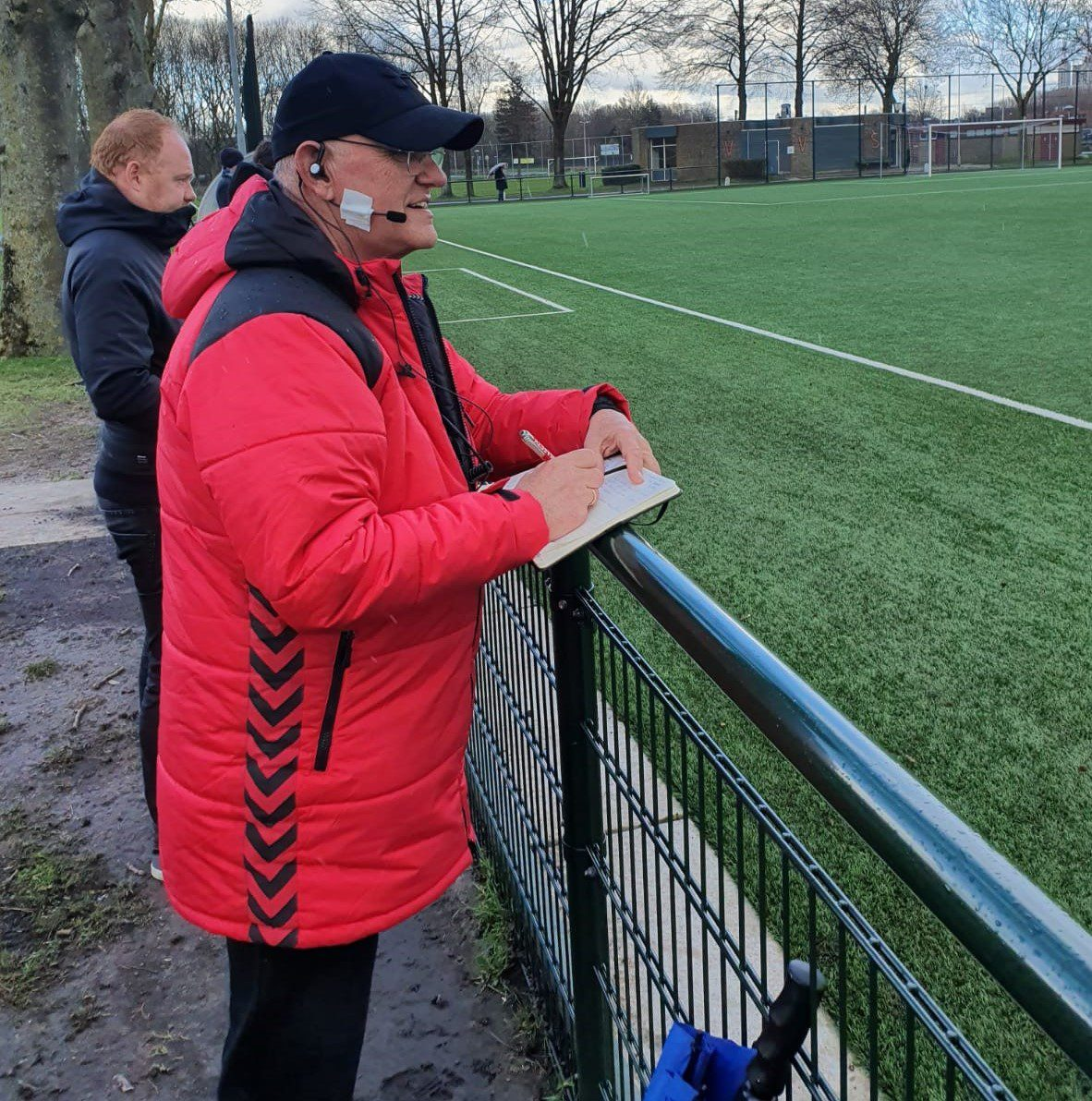 referee headset for coaching referees on the field