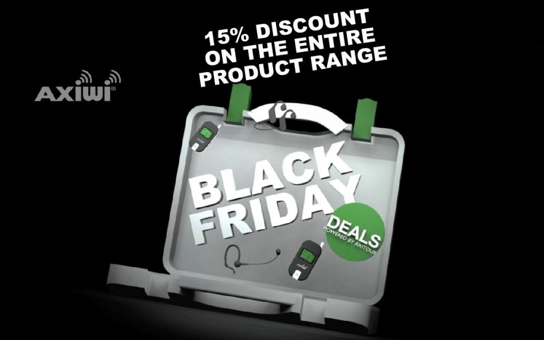 Black Friday – 15% discount on the entire AXIWI product range