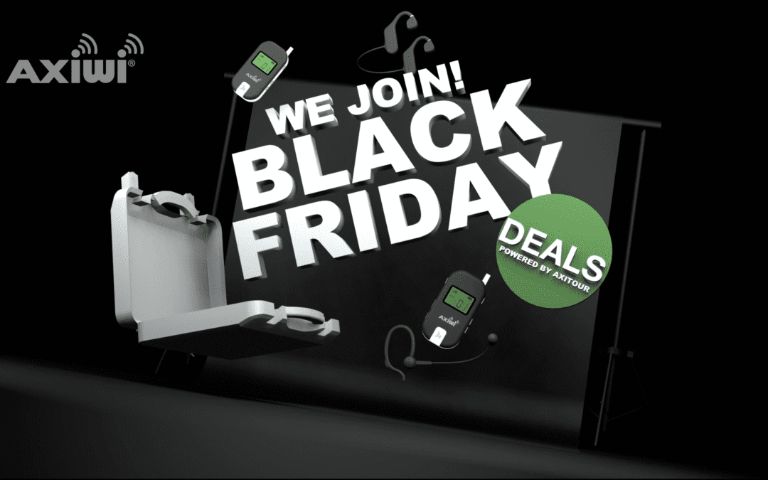 Black Friday AXI! We Join!