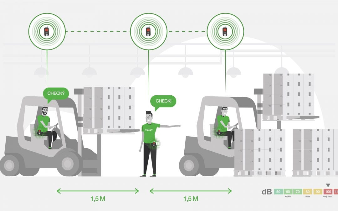 The many applications and possibilities of wireless headsets for Coronaproof communication in noisy logistics and production environments