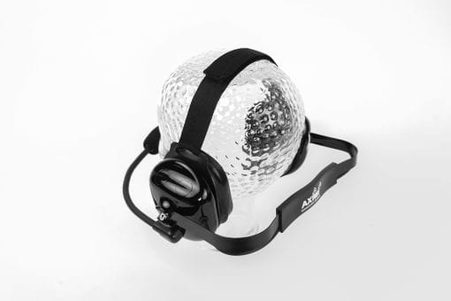 axiwi he-085 headset noise reduction 29 dB neckband picture from behind