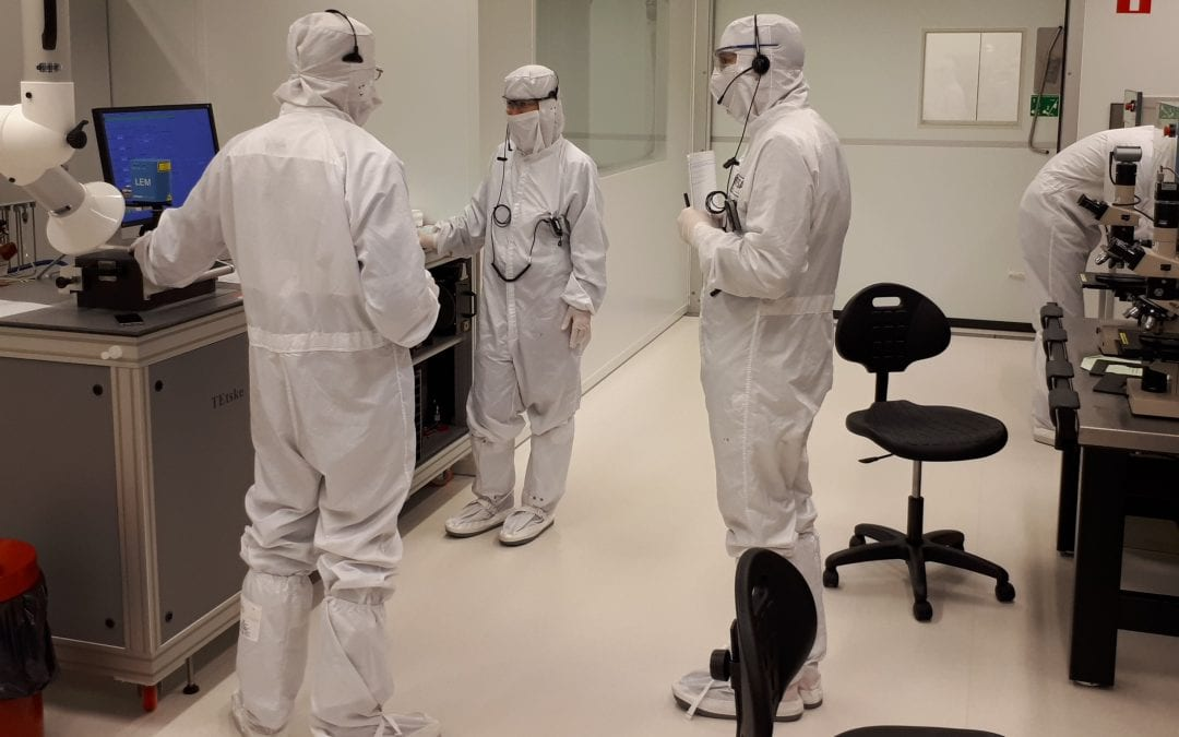 university twente nonalab using axiwi in their cleanroom