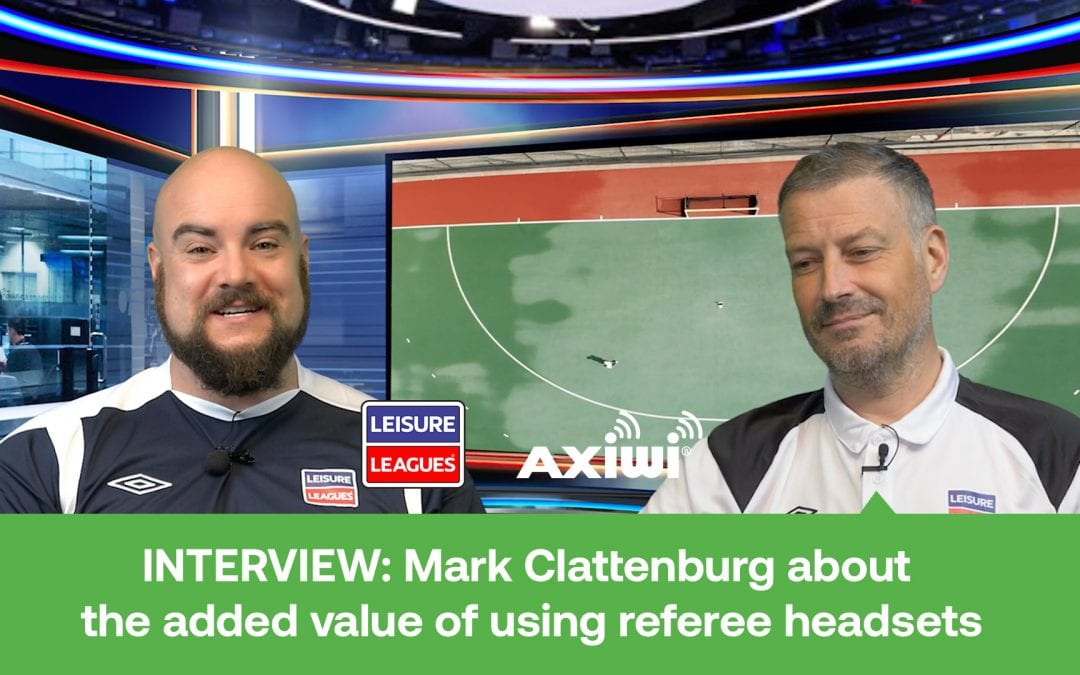 INTERVIEW: Mark Clattenburg about the added value of using referee headsets
