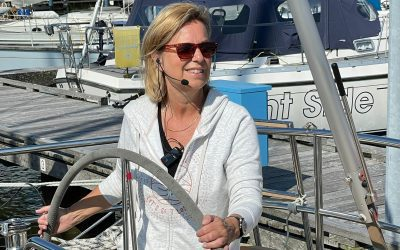 They no longer sail on the 'Zoute Liefde' without the wireless headsets of AXIWI