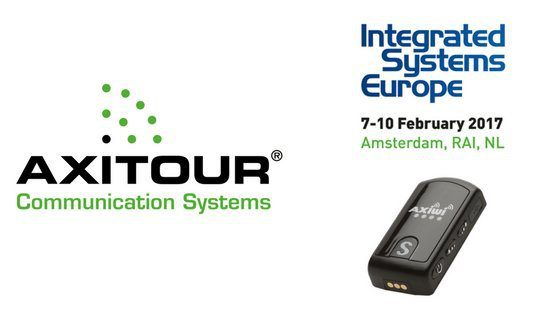 Axitour met AXIWI® op Integrated Systems Europe 2017