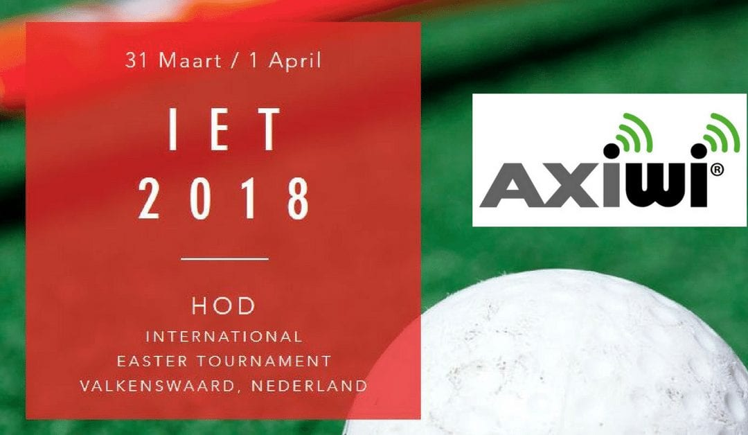 Axitour sponsor scheidsrechters HOD International Easter Tournament met AXIWI